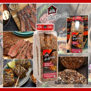 $108 加拿大 Club House la Grille 蒙特利爾牛排調味粉 (825g)