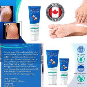 $207 加拿大制 Dermal ( 預防 / 深層修護 ) 腳跟龜裂膏勁量裝 240g + 90g